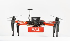 Dron e-shopu Mall.cz