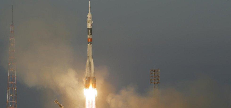 Start lodi Sojuz - ilustrační foto