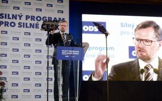 Petr Fiala na sjezdu ODS