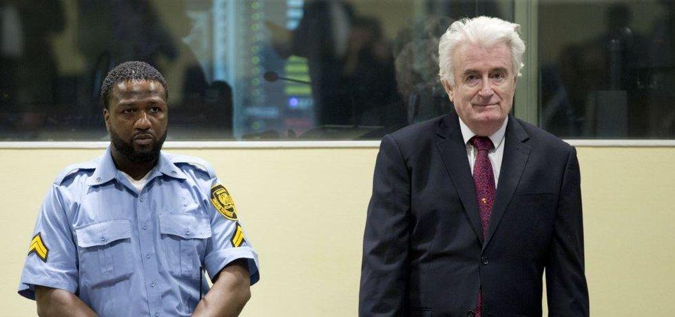 Bývalý vůdce bosenských Srbů Radovan Karadžič