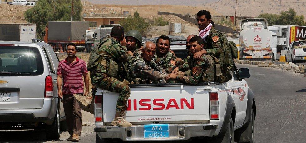 Kurdští bojovníci v Iráku
