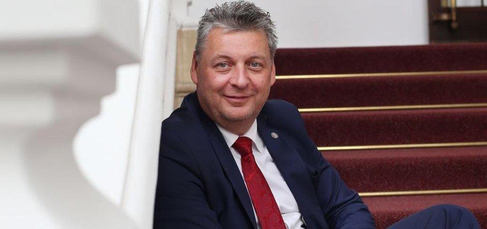 Jan Richter, hlavní manažer ANO