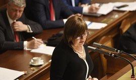 Návrh rozpočtu je kvalitní, má rekordní investice, řekla Schillerová