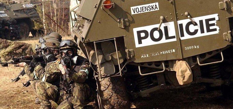 Zásahová jednotka vojenské policie