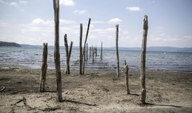 Jezero Bracciano nedaleko Říma