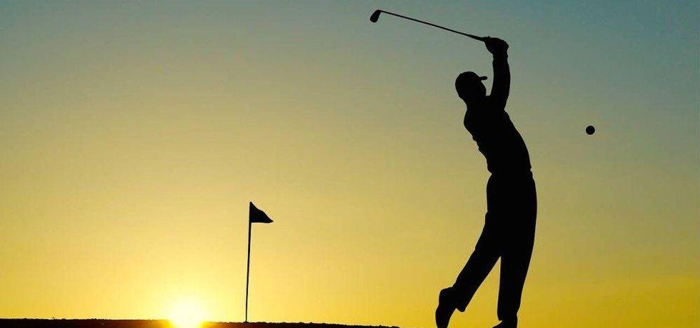 Golf, ilustrační foto