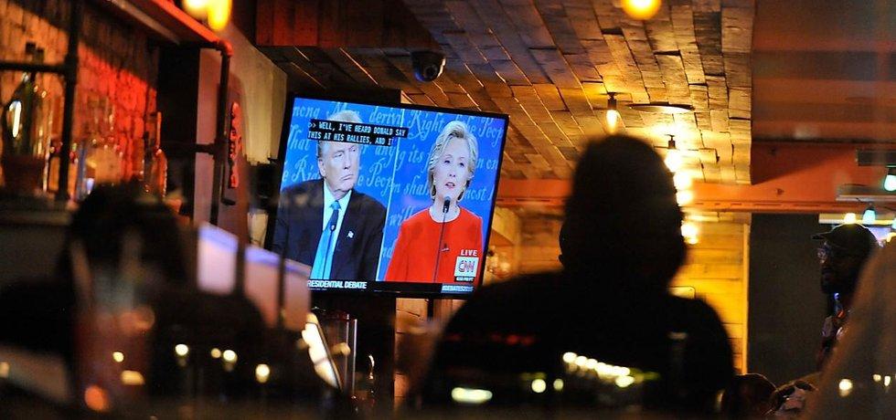 První televizní debata prezidentských kandidátů.