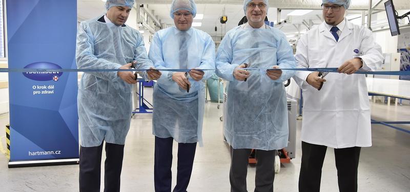 HARTMANN – RICO v Havlíčkově Brodě rozšiřuje výrobu
