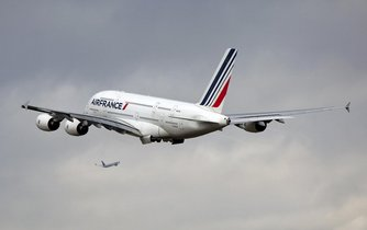 Airbus A380 aerolinek Air France