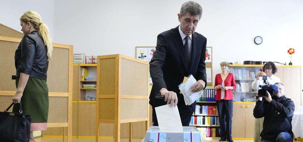 Šéf hnutí Ano Andrej Babiš (Zdroj: čtk)