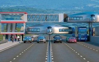 Doprava budoucnosti podle tureckého designéra Dahira Inssata