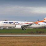 Jeden z aktuálně uzemněných Boeingů 737 MAX 8 české společnosti Smartwings