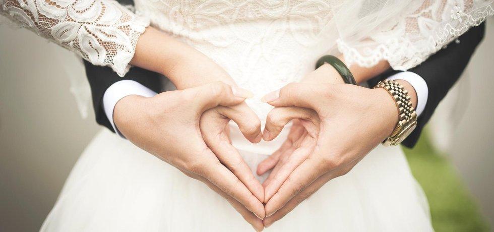 Novomanželé - ilustrační foto