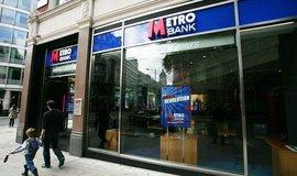 Pobočka Metro Bank v Británii
