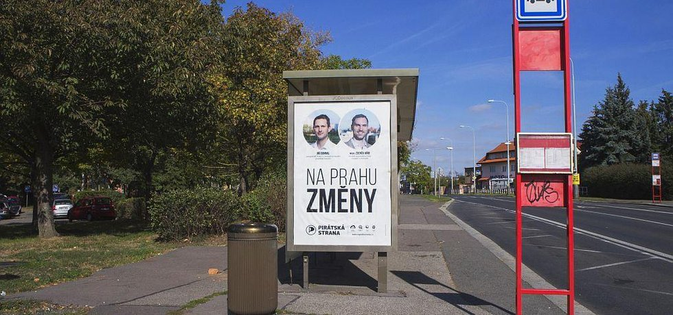 Kampaň Pirátské strany pro volby do pražského zastupitelstva v roce 2018