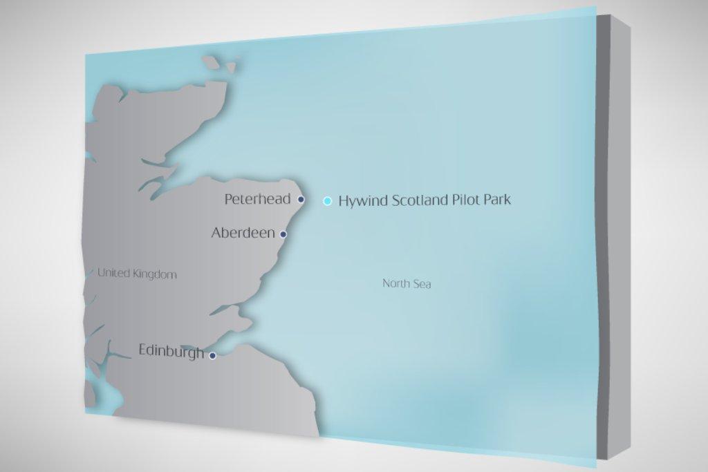 Farma se bude nacházet 25 kilometrů od skotských břehů.