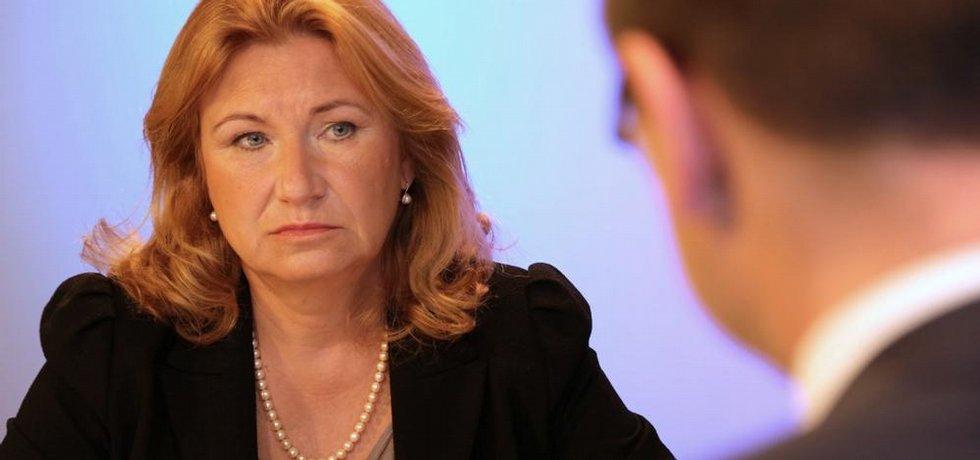 Eva Zamrazilová v Euro E15 TV