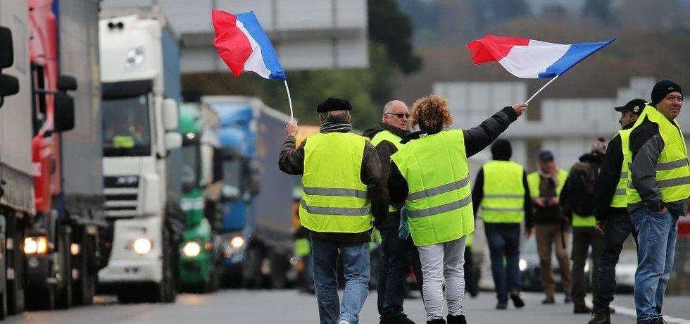 Protest hnutí žlutých vest