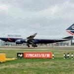 Boeing 747 v historických barvách British Airways
