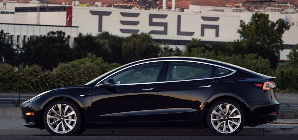 Model 3 od Tesly