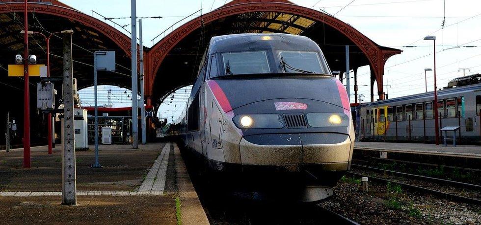 Rychlovlak TGV, ilustrační foto