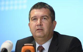 Předseda ČSSD a ministr vnitra Jan Hamáček