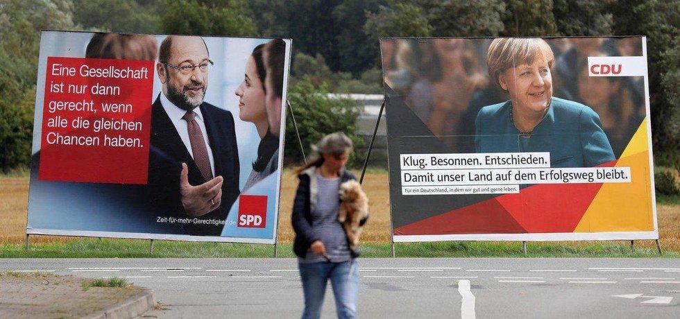 V Německu vrcholí předvolební kampaň