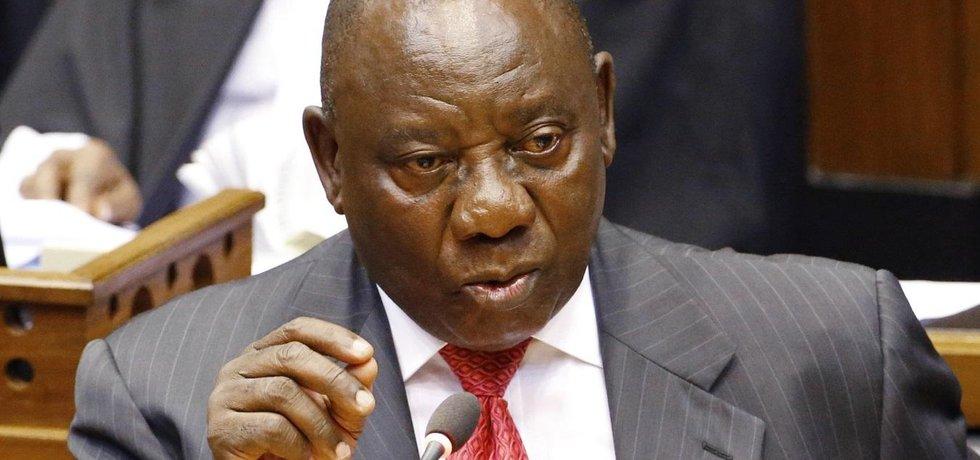 Nový prezident JAR Cyril Ramaphosa