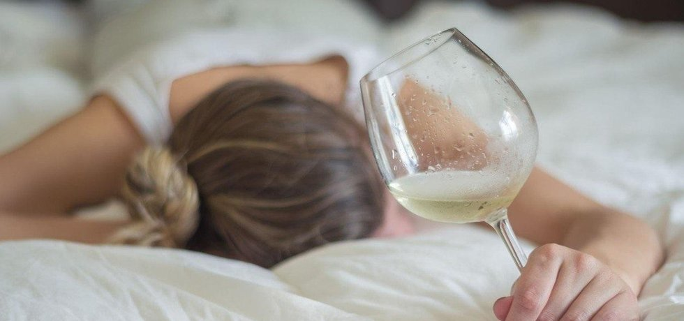 Alkoholismus, ilustrační foto