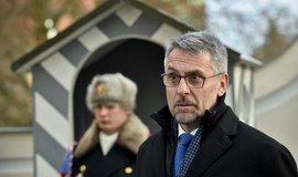 Kandidát na ministra vnitra Lubomír Metnar po schůzce s prezidentem Milošem Zemanem v Lánech
