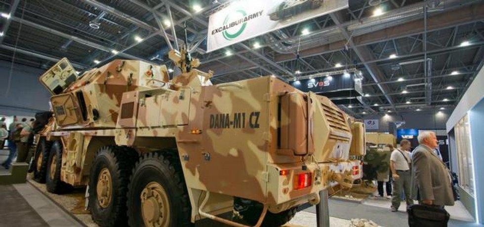 Ilustrační foto vojenské techniky od Excalibur Army