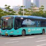 Elektrický autobus BYD K9 v roce 2012 v čínském Šen-čenu.
