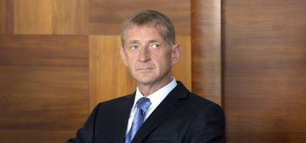 Janoušek na soudním jednání