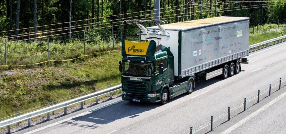 Elektrokamion Scania