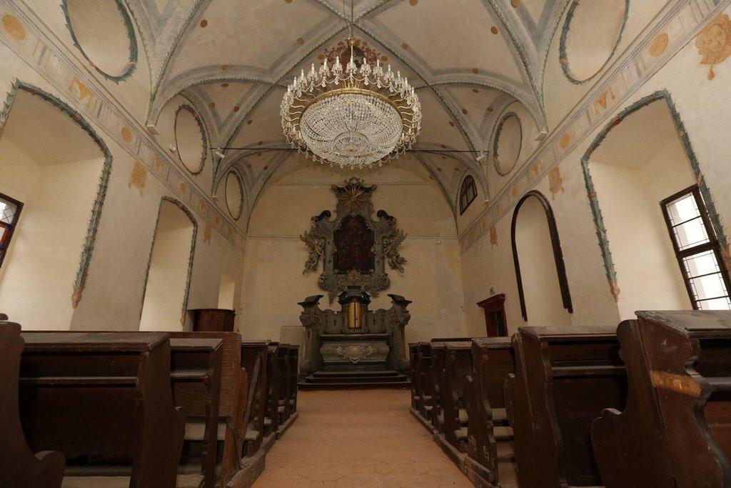 Zámek Svijany - kaple