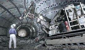 Přestavba šachty Konrad v německém Salzgitteru na úložiště jaderného odpadu.