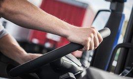 Řidič kamionu, ilustrační foto