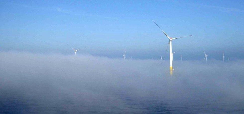 Německý větrný park Baltic 2