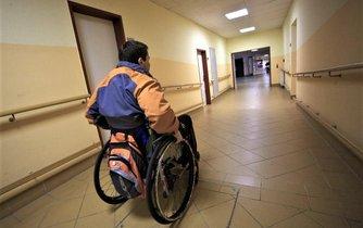 vozíčkář, ilustrační foto