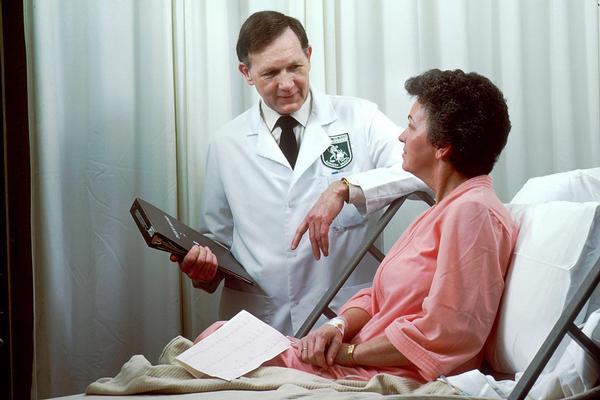 nemocnice, lékař, pacient