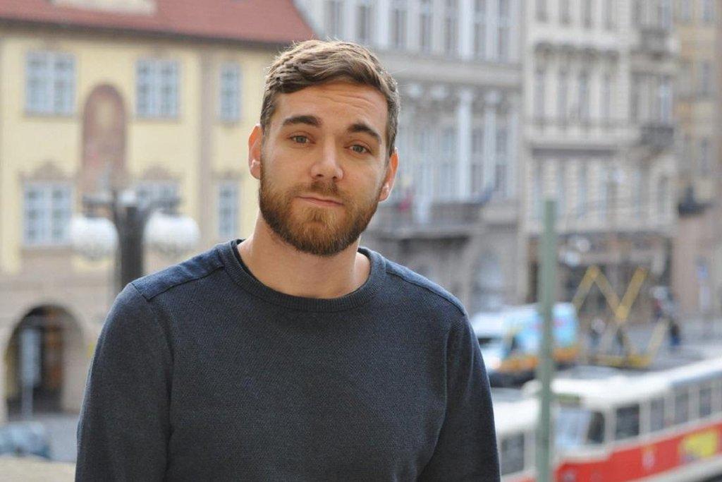 Poslanec Pirátů Tomáš Vymazal
