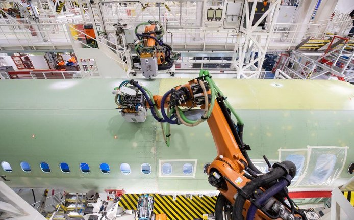 Výroba letadel Airbus