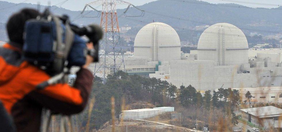 Jihokorejská jaderná elektrárna Šin-kori. V roce 2016 šel do provozu nový blok s reaktorem APR1400