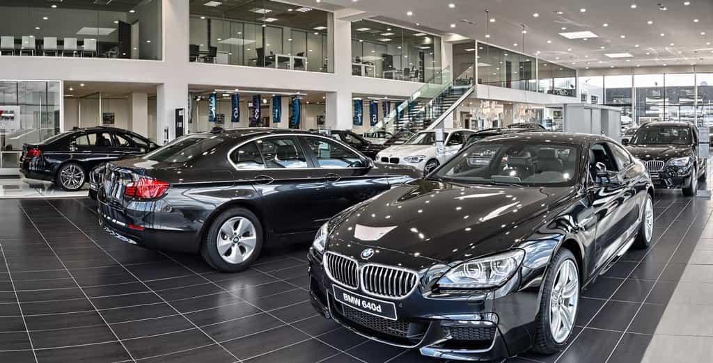 Showroom BMW
