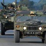 Průjezd amerického konvoje