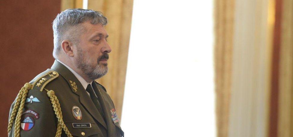 Nový náčelník generálního štábu Aleš Opata