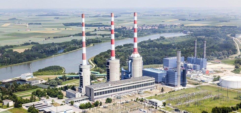 Plynová elektrárna Irsching, ilustrační foto