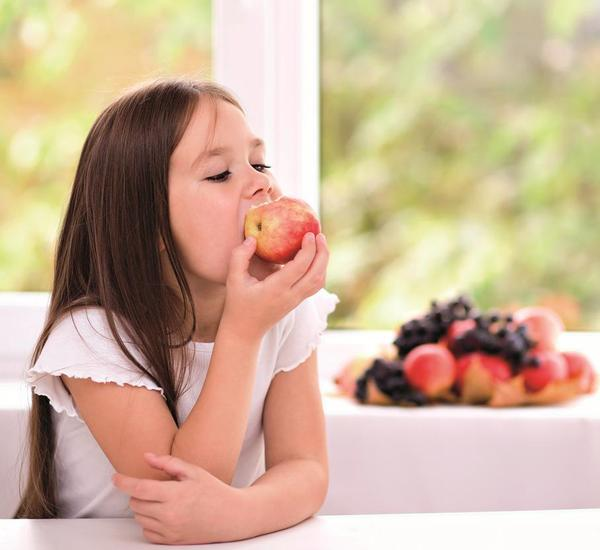 dítě, výživa, strava, jídlo