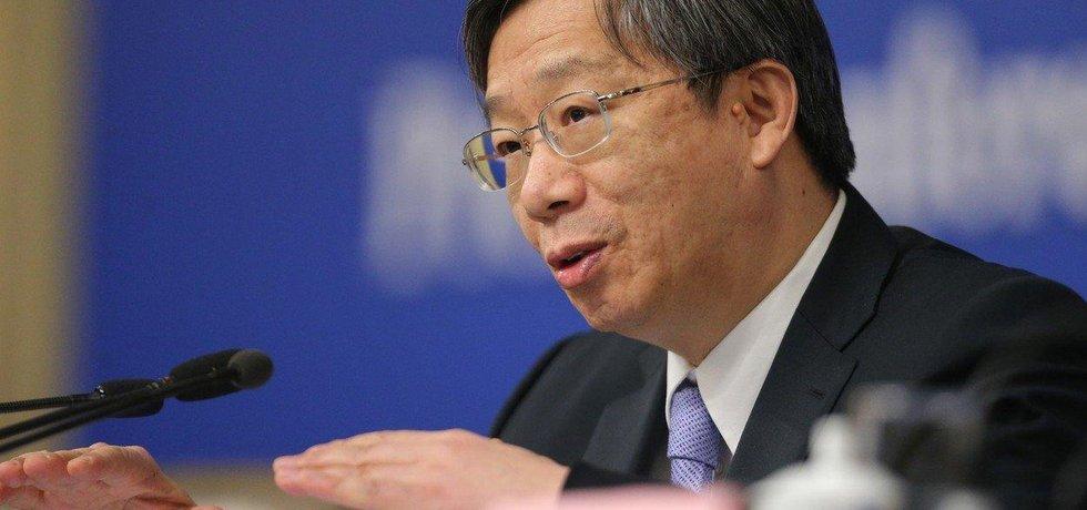 Guvernér čínské centrální banky I Kang
