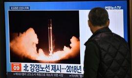 Severokorejský raketový test, ilustrační foto